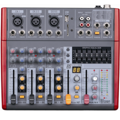 Микшерный пульт Big F502MP3+EQ
