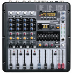 Микшерный пульт Big X6MP3+EQ