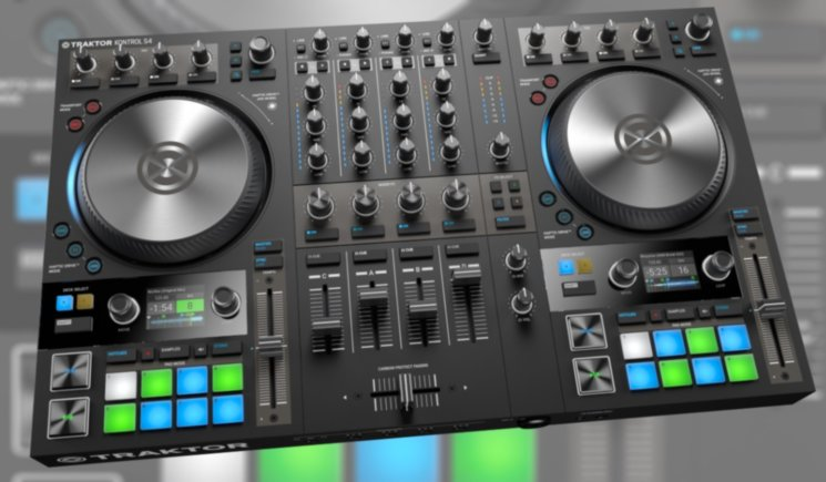 Контроллер Native Instruments Traktor Kontrol S4 MK3